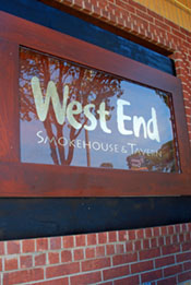 west end sign